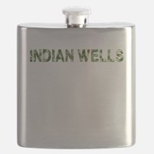 Indian Wells, Vintage Camo, Flask