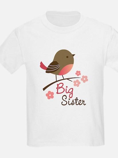 Big Sister - Mod Bird T-Shirt