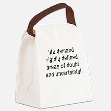 DemandDoubt_Shirt.png Canvas Lunch Bag