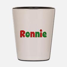Ronnie Christmas Shot Glass