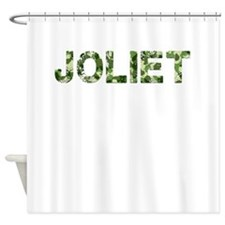Joliet, Vintage Camo, Shower Curtain