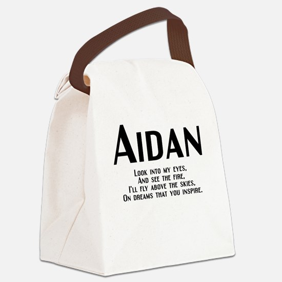 Aidan_rhyme-b.png Canvas Lunch Bag