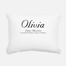 Olivia_meaning-b.png Rectangular Canvas Pillow