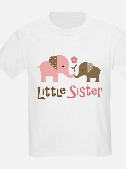 Little Sister - Mod Elephant T-Shirt