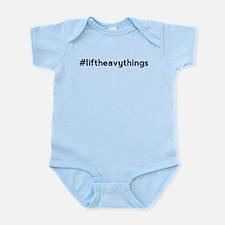 Lift Heavy Things Hashtag Infant Bodysuit