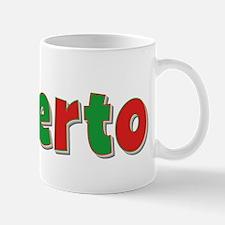 Roberto Christmas Mug