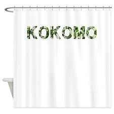 Kokomo, Vintage Camo, Shower Curtain