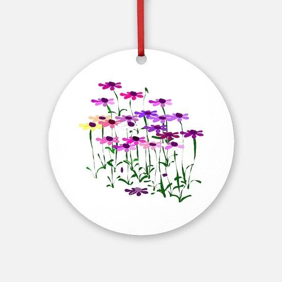 Wildflowers Ornament (Round)