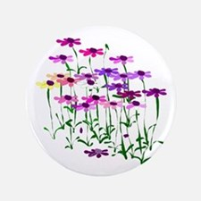 "Wildflowers 3.5"" Button"
