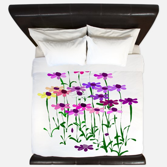 Wildflowers King Duvet