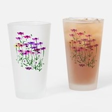 Wildflowers Drinking Glass