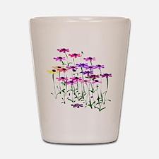 Wildflowers Shot Glass