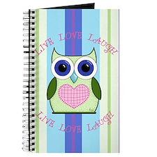 Owl Journal ~ Art by Andi Metz