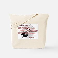 Piper's Creed (White) Tote Bag