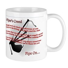 Piper's Creed (White) Mug