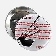 """Piper's Creed (White) 2.25"""" Button"""