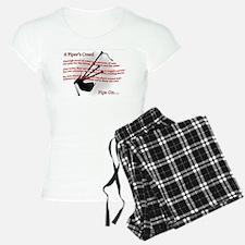 Piper's Creed (White) Pajamas