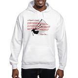 Bagpipes Hooded Sweatshirt