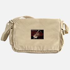 Piper's Creed (Black) Messenger Bag