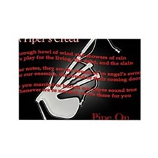 Piper's Creed (Black) Rectangle Magnet