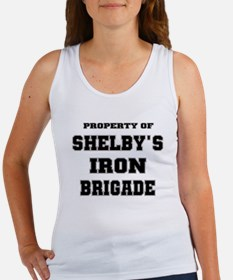 Property of Shelby's Iron Brigade Women's Tank Top