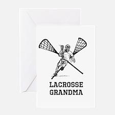 Lacrosse Grandma Greeting Card
