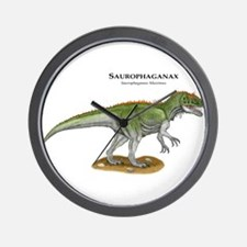 Saurophaganax Wall Clock
