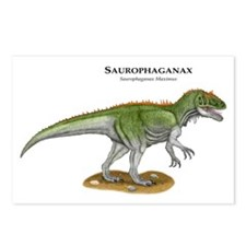 Saurophaganax Postcards (Package of 8)