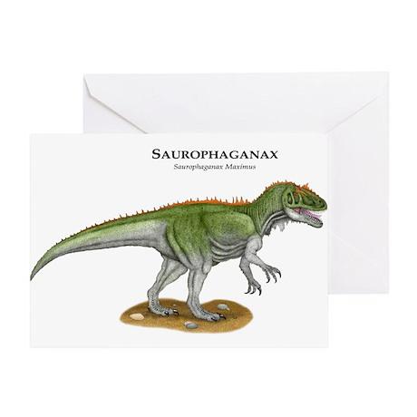 Saurophaganax Greeting Card
