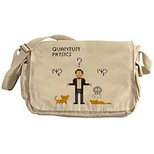 Pixel Schrödinger Messenger Bag