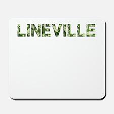 Lineville, Vintage Camo, Mousepad