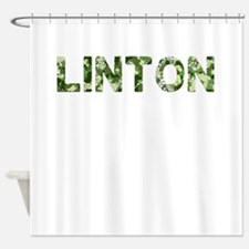 Linton, Vintage Camo, Shower Curtain