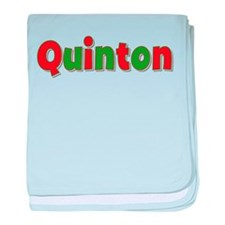 Quinton Christmas baby blanket