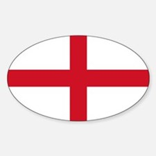 England World Flag Bumper Decal