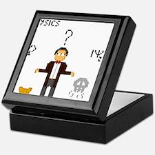 Pixel Schrödinger Keepsake Box