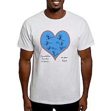 Handprints on your heart - 7 kids T-Shirt