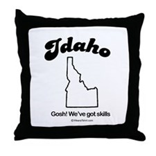 IDAHO: We've got skills Throw Pillow