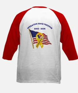 Welcome Home Soldier! Kids Baseball Jersey