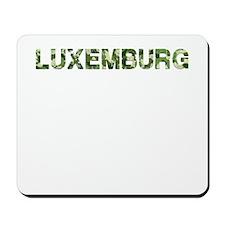 Luxemburg, Vintage Camo, Mousepad