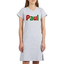 Paul Christmas Women's Nightshirt