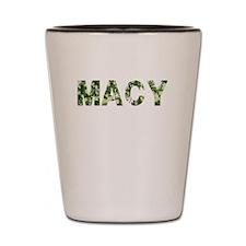 Macy, Vintage Camo, Shot Glass