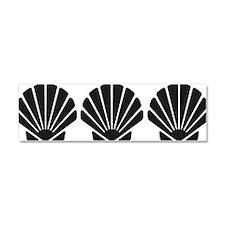 Sea Shells Car Magnet 10 x 3