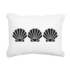 Sea Shells Rectangular Canvas Pillow