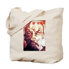 Wake Up Lenin Tote Bag