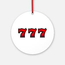 777 Ornament (Round)