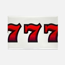 777 Rectangle Magnet