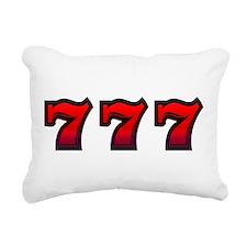 777 Rectangular Canvas Pillow