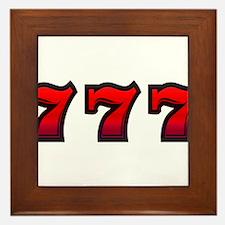 777 Framed Tile