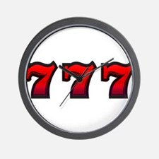 777 Wall Clock