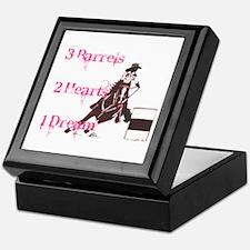 3 Barrels, 2 Hearts, 1 Dream Keepsake Box